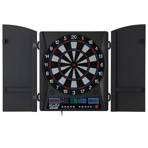 Fat Cat Electronix Electronic Dartboard with Cabinet