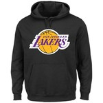 Majestic Men's Los Angeles Lakers NBA Solid Heavyweight Hoodie