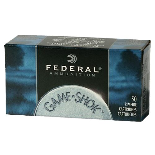 Federal Premium Game-Shok .22 WMR JHP Rimfire Ammunition