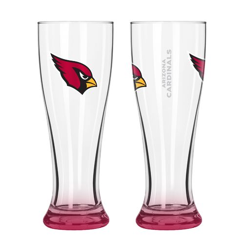 Boelter Brands Arizona Cardinals Elite 16 oz. Pilsners 2-Pack