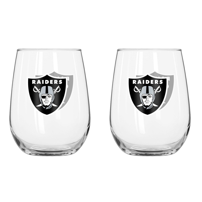 Boelter Brands Oakland Raiders 16 oz. Curved Beverage