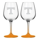 Boelter Brands University of Tennessee 12 oz. Wine Glasses 2-Pack - view number 1