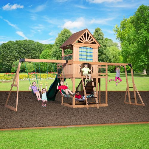 Backyard Discovery™ Oceanview Wooden Swing Set - view number 5