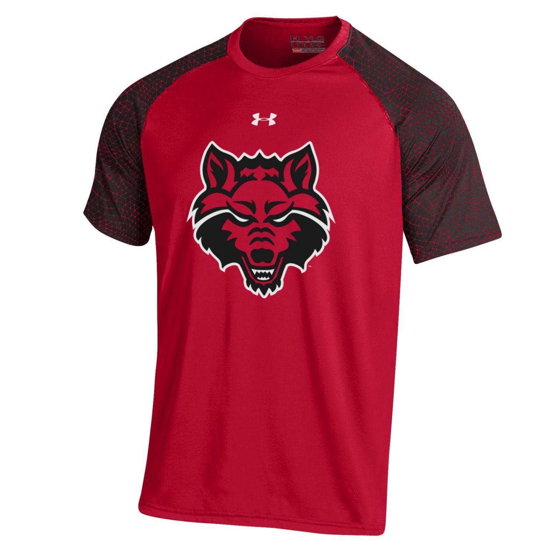 Under Armour® Boys' Arkansas State University Apex Tech T-shirt