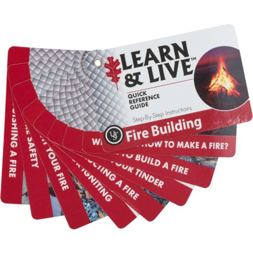 Display product reviews for UST Brands Learn & Live Fire Building Cards