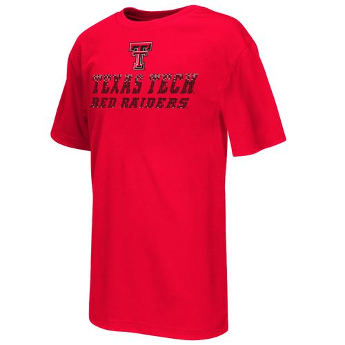 Colosseum Athletics™ Boys' Texas Tech University Pixel Short Sleeve T-shirt
