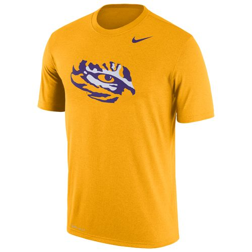Nike Men's Louisiana State University Dri-FIT Legend Logo Short Sleeve T-shirt