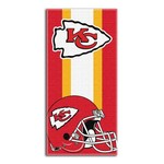 The Northwest Company Kansas City Chiefs Zone Read Beach Towel