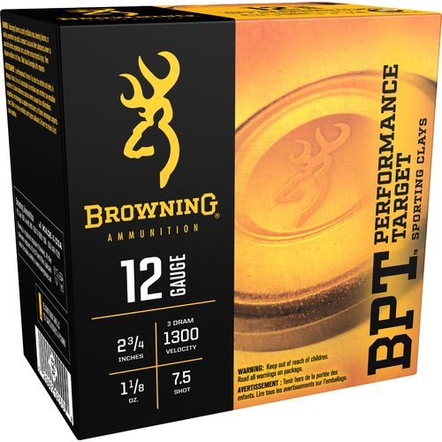Browning Performance Target Sporting Loads 12 Gauge Shotshells