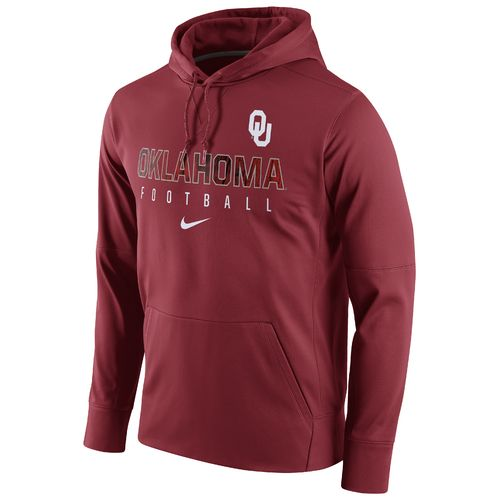 Nike Men's University of Oklahoma Circuit Perf Pullover Hoodie