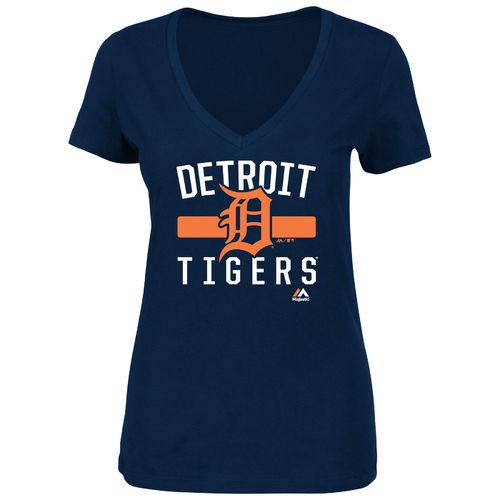 Majestic Women's Detroit Tigers One Game at a Time T-shirt - view number 1