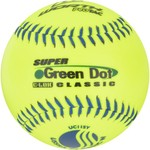 "Worth® Super Dot 11"" Softballs 12-Pack"