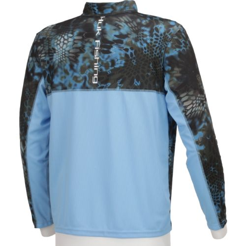Huk Men's Kryptek Icon 1/4 Zip Top - view number 1