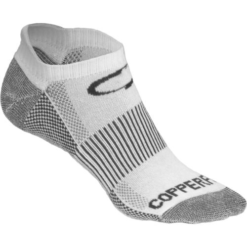 Copper Fit Men's No-Show Sport Socks