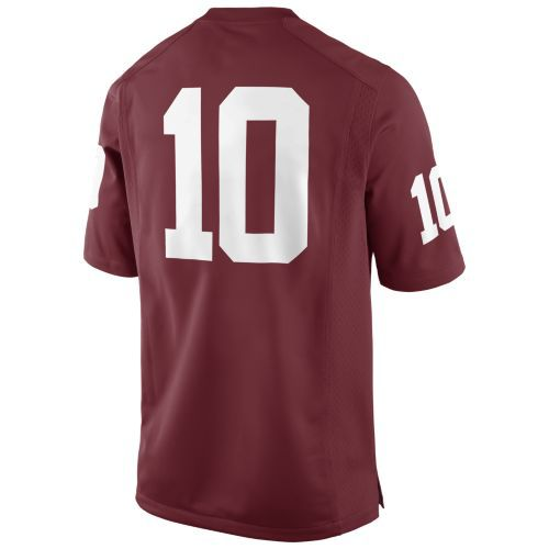 Nike Men's University of Oklahoma Game Jersey - view number 2