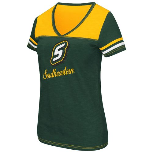 Colosseum Athletics™ Women's Southeastern Louisiana University Rhinestone Short Sleeve T-sh