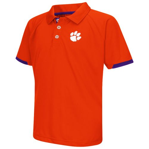 Colosseum Athletics™ Boys' Clemson University Spiral Polo Shirt