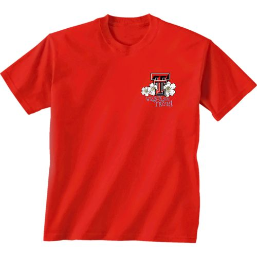 New World Graphics Women's Texas Tech University Bright Plaid T-shirt - view number 2