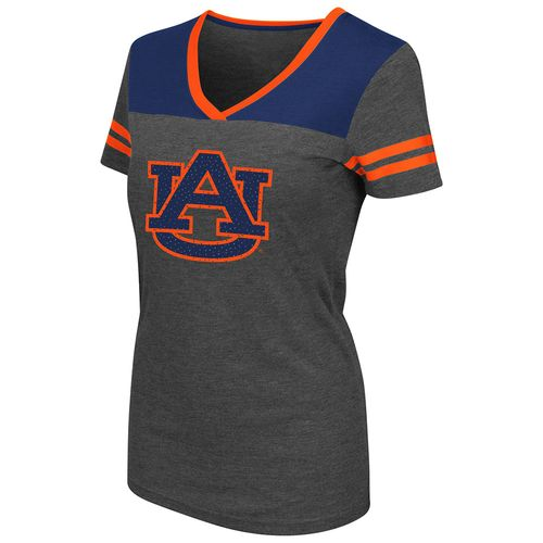 Colosseum Athletics™ Women's Auburn University Twist V-neck