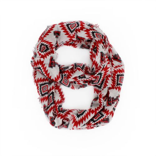 ZooZatz Women's Texas Tech University Southwest Infinity Scarf