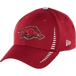 New Era Men's University of Arkansas 9FORTY Speed Adjustable Cap