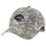 adidas™ Men's University of Texas at San Antonio Digital Camo Adjustable Slouch Cap