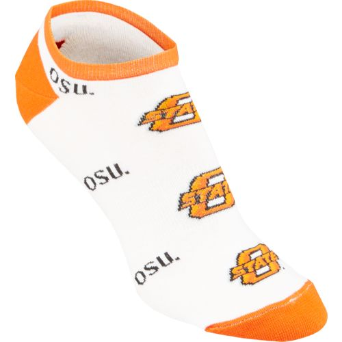 Topsox Women's Oklahoma State University No-Show Socks 3 Pairs