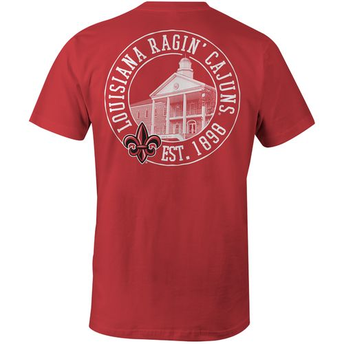 Image One Men's University of Louisiana at Lafayette Comfort Color T-shirt