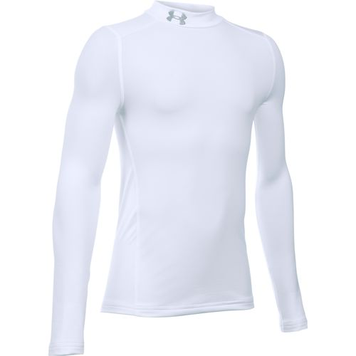 Under Armour Boys' ColdGear Armour Mock Neck Top - view number 1