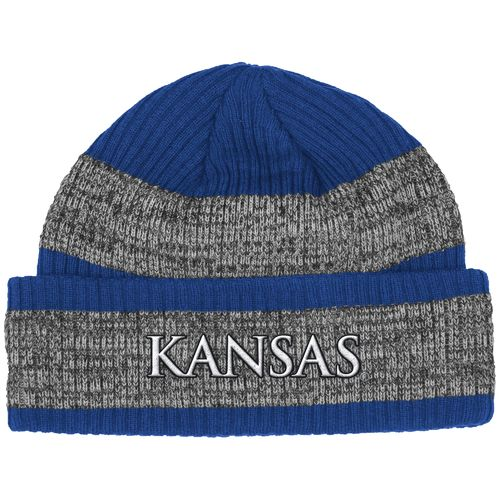adidas™ Men's University of Kansas Player Watch Knit Cap