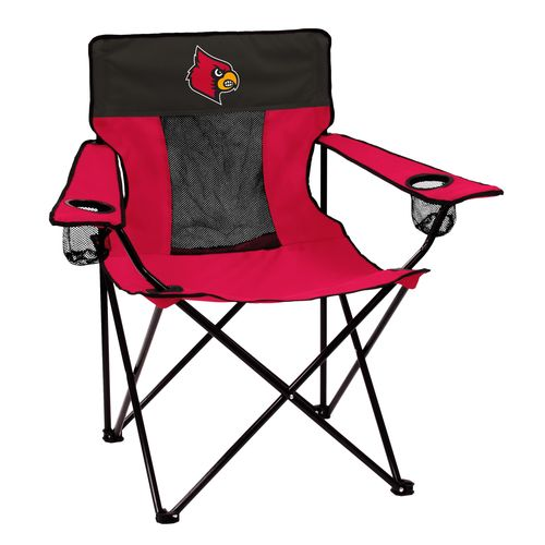 Logo University Of Louisville Elite Chair   Patio Furniture/Accessories, Collegiate  Chairs At Academy Sports