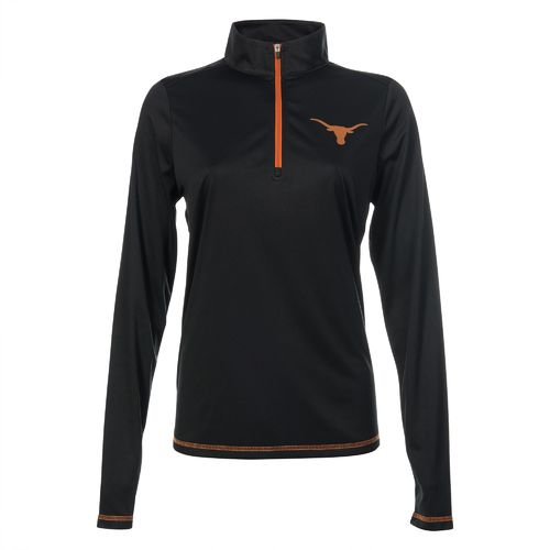 We Are Texas Women's University of Texas Shock Canaan 1/4 Zip Pullover