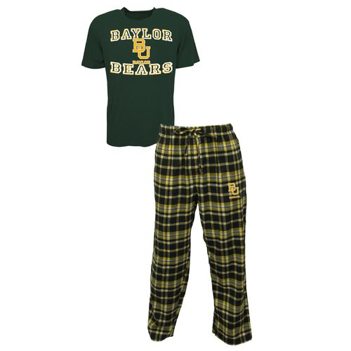Concepts Sport™ Men's Baylor University Tiebreaker Shirt and Pant Set