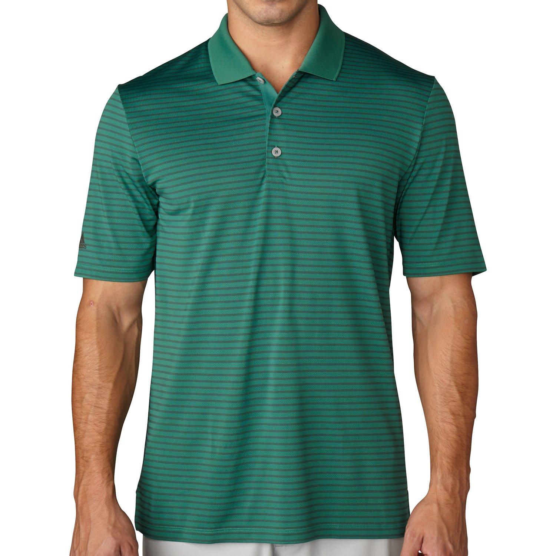 adidas™ Men's climacool® Pencil Stripe Polo Shirt