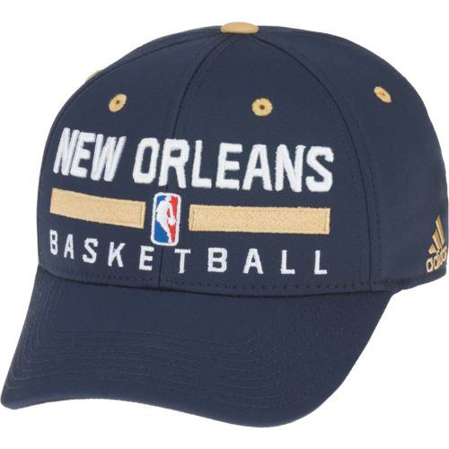 adidas Men's New Orleans Pelicans Practice Structured Flex Cap