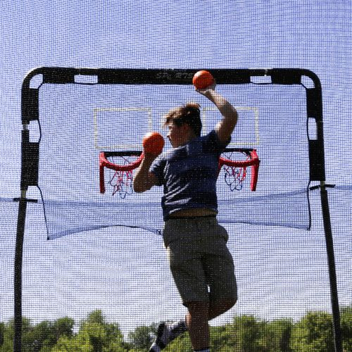 Skywalker Trampolines Double Basketball Hoop for 15' Trampolines - view number 7