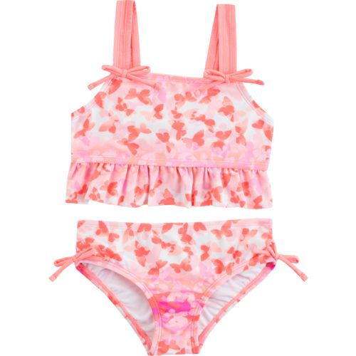 O'Rageous Girls' Butterfly Away 2-Piece Bikini