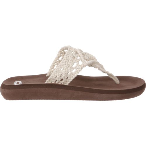 O'Rageous Women's Crochet Thong Sandals