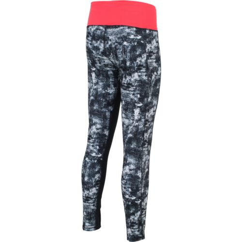 adidas™ Women's High Rise Elemental Raw Print Tight