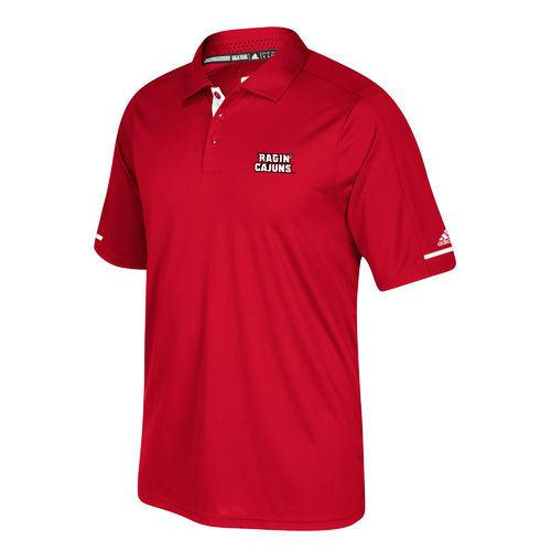adidas Men's University of Louisiana at Lafayette climachill Polo Shirt