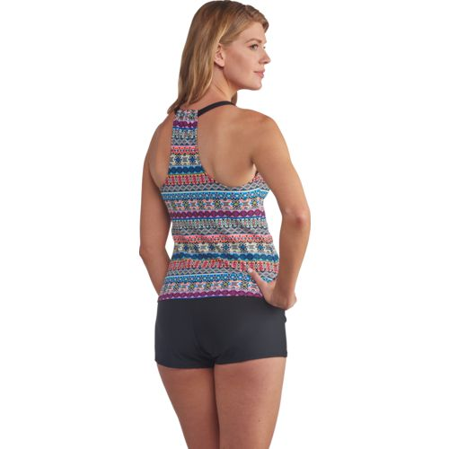 Next Women's Harmony Removable Soft Cup Shirr Tankini Swim Top