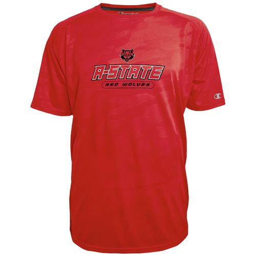 Champion™ Men's Arkansas State University Impact Embossed T-shirt