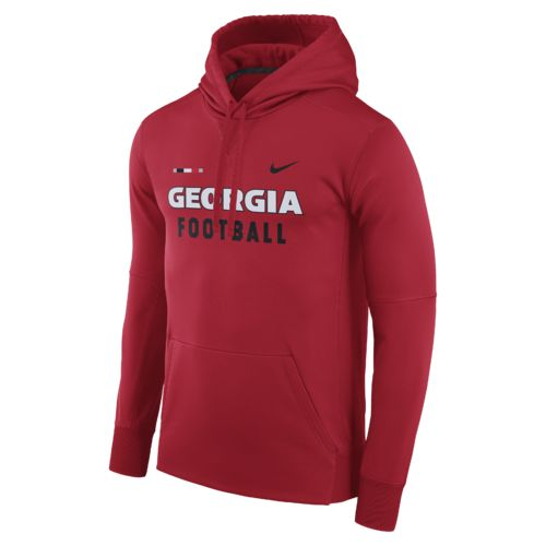 Nike™ Men's University of Georgia Therma-FIT Pullover Hoodie