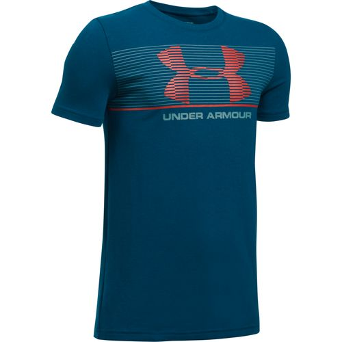 Under Armour Boys' Chest Stripe T-shirt