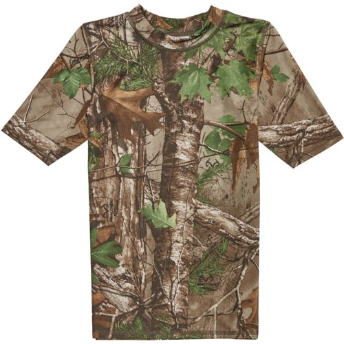 O'Rageous Boys' Realtree Short Sleeve Rash Guard - view number 4
