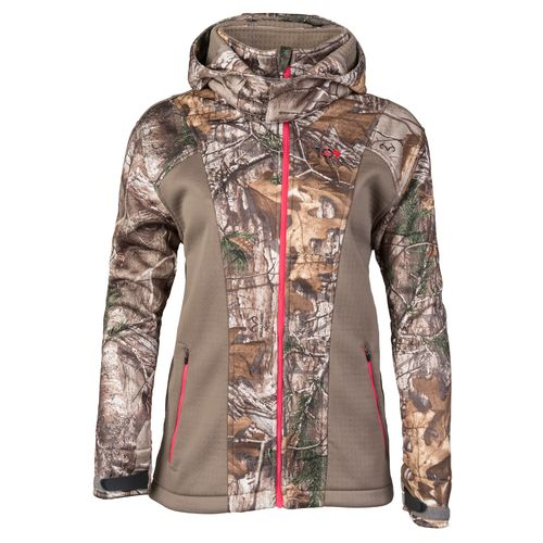 10X Women's Lockdown Camo Softshell Jacket - Camo Clothing, Ladies Non-Insulated Camo at Academy Sports thumbnail
