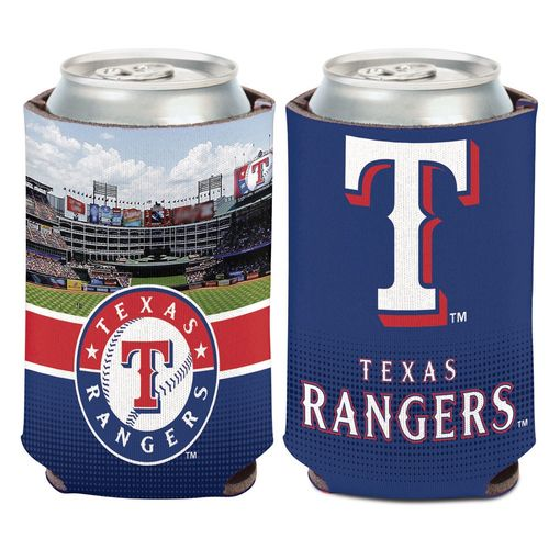 WinCraft Texas Rangers Stadium Can Cooler - view number 1