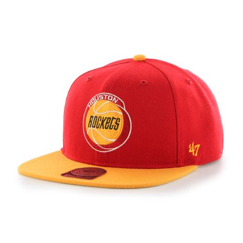 '47 Adults' Houston Rockets Sure Shot 2-Tone Captain Cap
