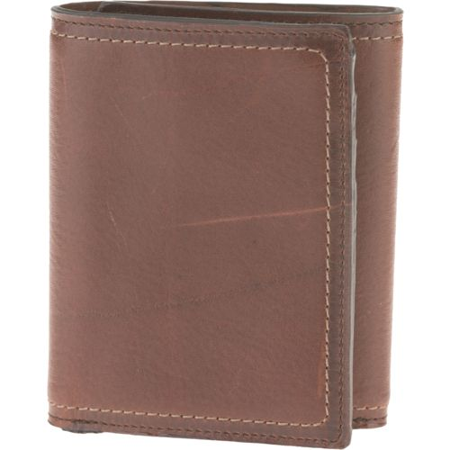 Magellan Outdoors Men's Contrast-Stitch Trifold Wallet