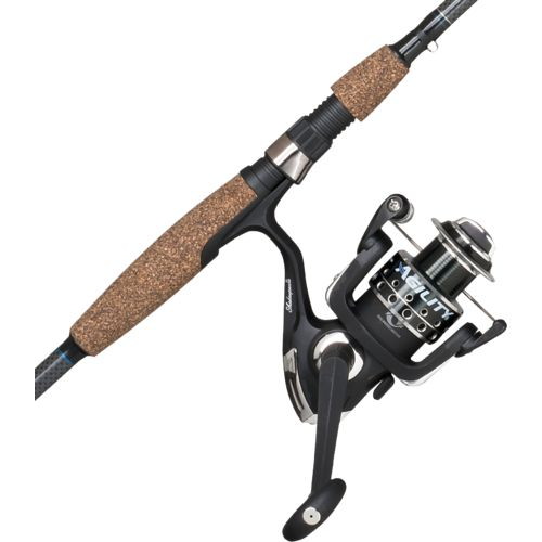 Shakespeare agility 6 39 6 m freshwater saltwater spinning for Saltwater fishing rod and reel combos